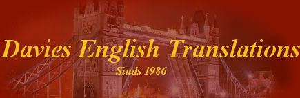 Davies English Translations - Sinds 1986